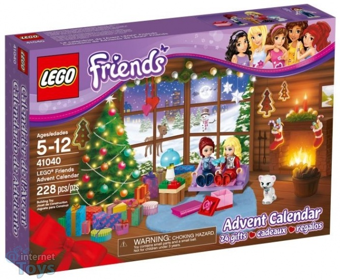 Lego Friends: Adventskalender 41040