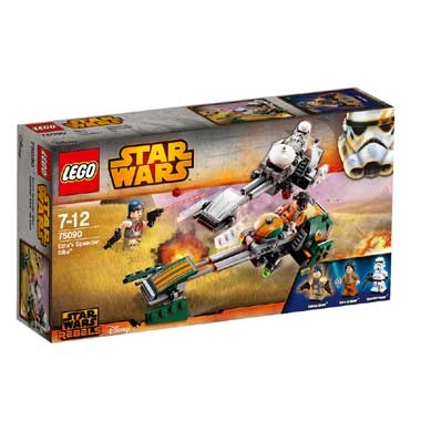 Lego Star Wars Ezraâs Speeder Bike 75090