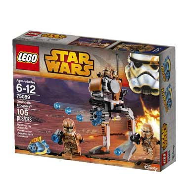 Lego Star Wars Geonisis Troopers 75089