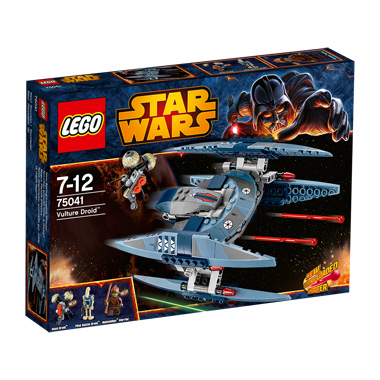 Lego Star Wars Vulture Droid 75041