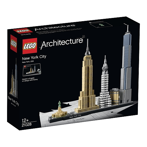 Lego architecture - 21028 new york city