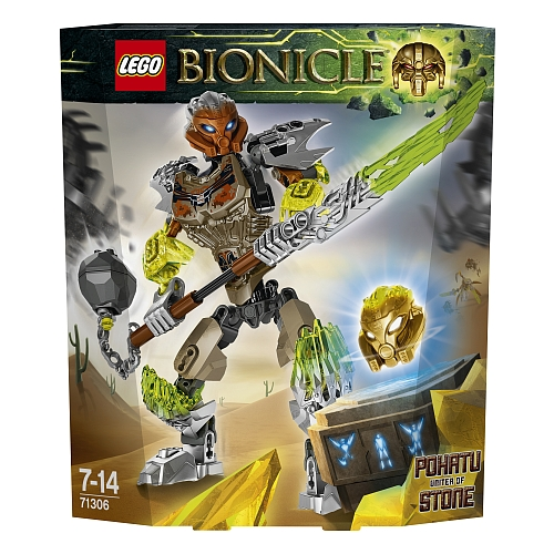 Lego bionicle - 71306 pohatu unifier of stone