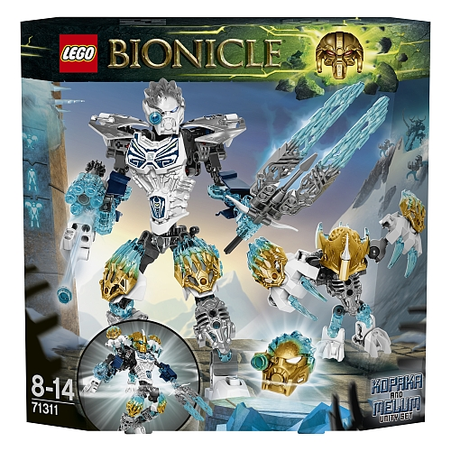Lego bionicle - 71311 kopaka and melum unity set