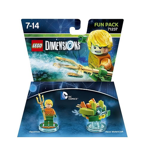 Lego dimensions - fun pack, dc comics aquaman 71237