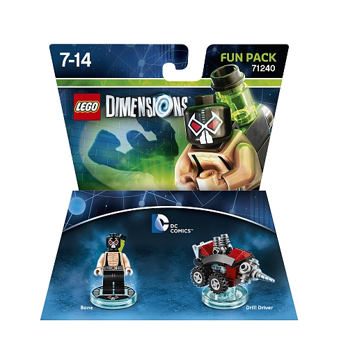Lego dimensions - fun pack, dc comics bane 71240