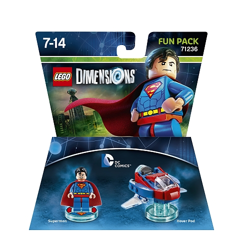 Lego dimensions - fun pack, dc comics superman 71236