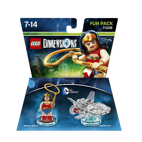 Lego dimensions - fun pack, dc wonder woman 71209