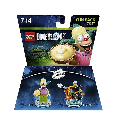 Lego dimensions - fun pack, krusty