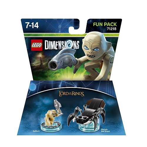 Lego dimensions - fun pack, lord of the rings gollum 71218
