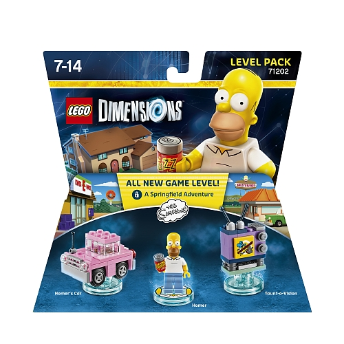 Lego dimensions - level pack, the simpsons 71202