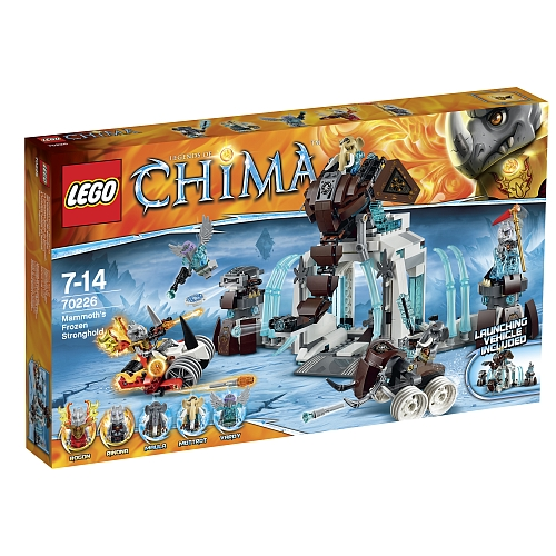 Lego legends of chima - 70226 bevroren mammoetvesting