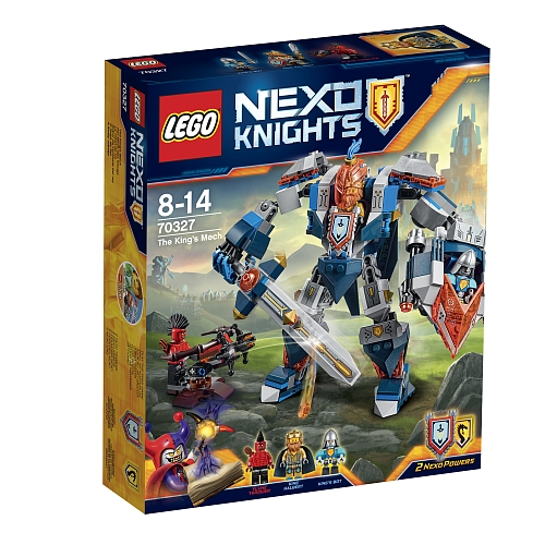 Lego nexo knights - 70327 the kings mech
