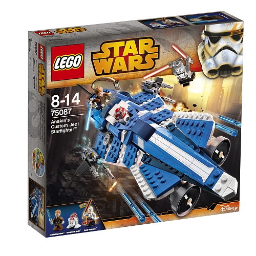 Lego star wars  anakins custom jedi starfighter 75087