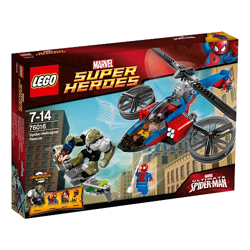Lego super heroes helikopter redding 76016