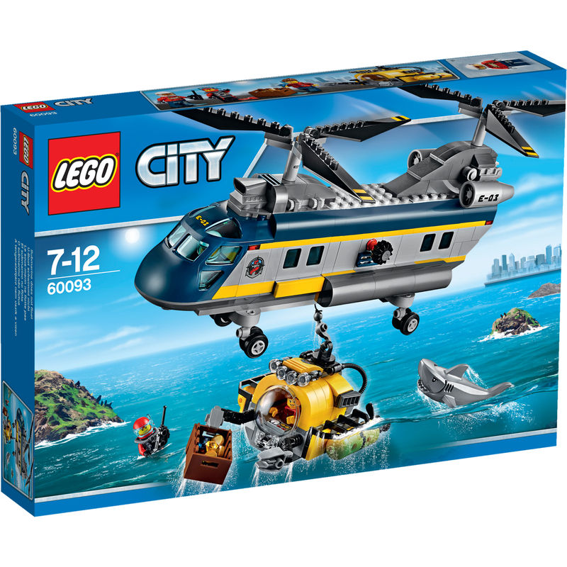 LEGO City Diepzee Helikopter 60093