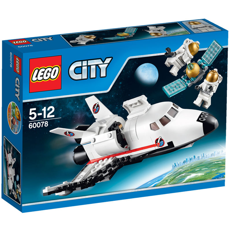 LEGO City Space Shuttle Hulpvoertuig 60078