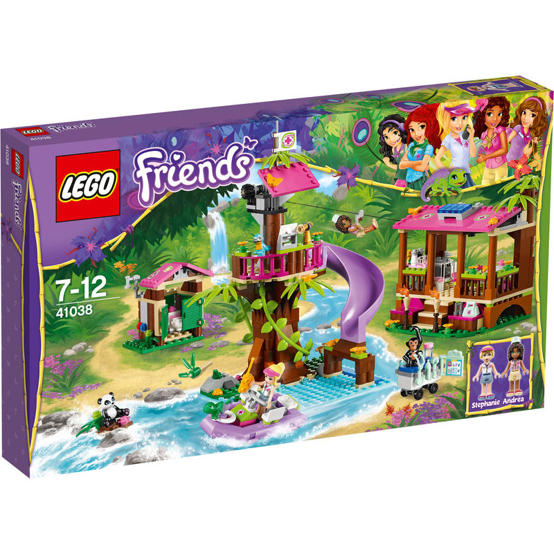 LEGO Friends Jungle reddingsbasis 41038