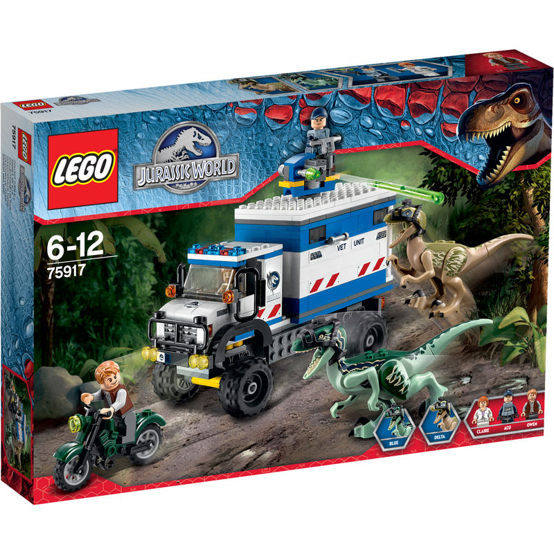 LEGO Jurassic World Raptorrooftocht 75917