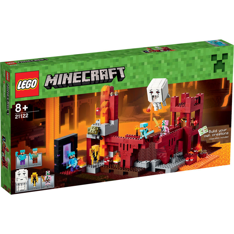 LEGO Minecraft Het Nether Fort 21122