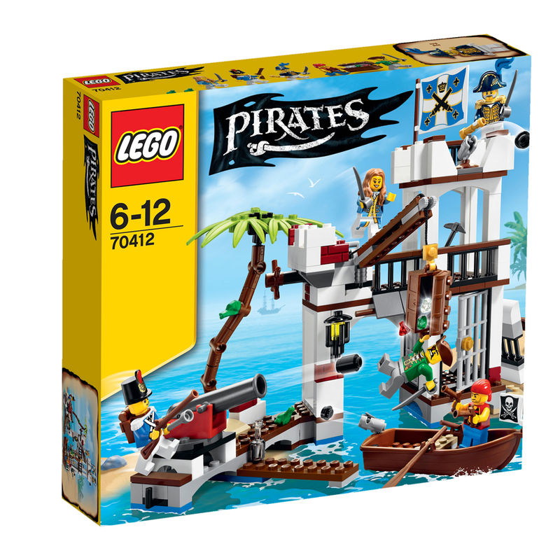 LEGO Pirates Het Soldatenfort 70412