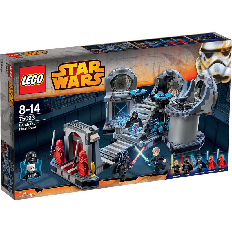 LEGO Star Wars Death Star Beslissend Duel 75093