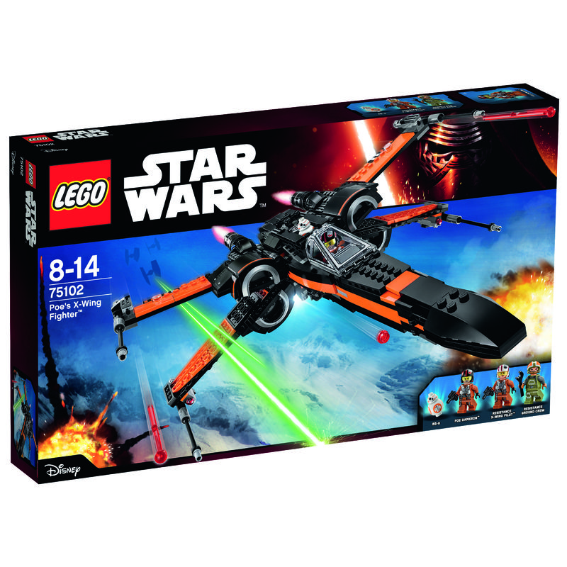 LEGO Star Wars Poe X-Wing Fighter 75102