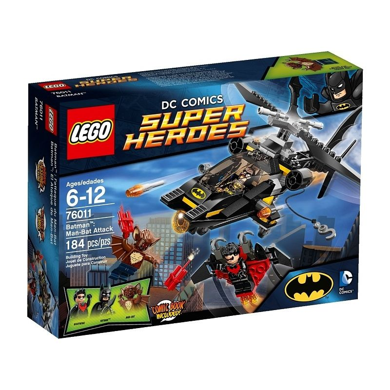 LEGO Super Heroes Batman: Man-Bat Aanval 76011