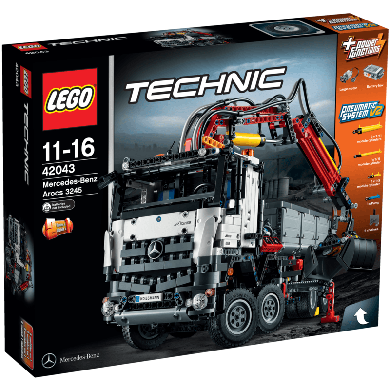 LEGO Technic Mercedes-Benz Arocs 42043