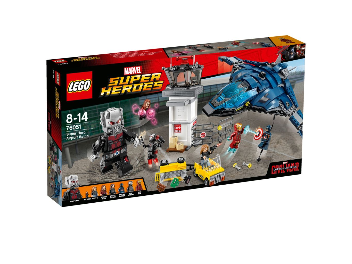Lego 76051 Confidential - Captain America Movie 2