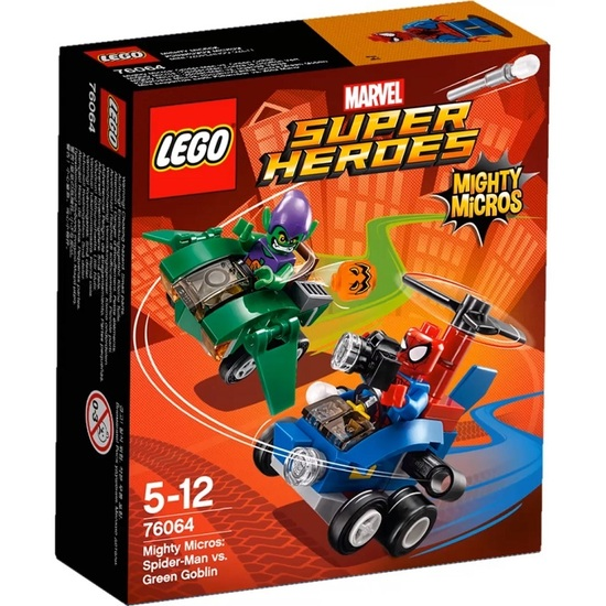 Lego 76064 Mighty Micros: Spider-man Vs Green Goblin