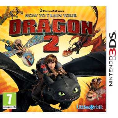 How To Train Your Dragon 2 voor 3DS