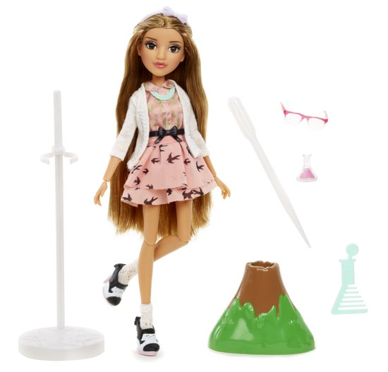 Project Mc² Experiments with Dolls- Adriennes Volcano