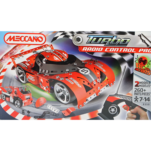 Meccano Bouwset RC Turbo Rally Car 2-in-1