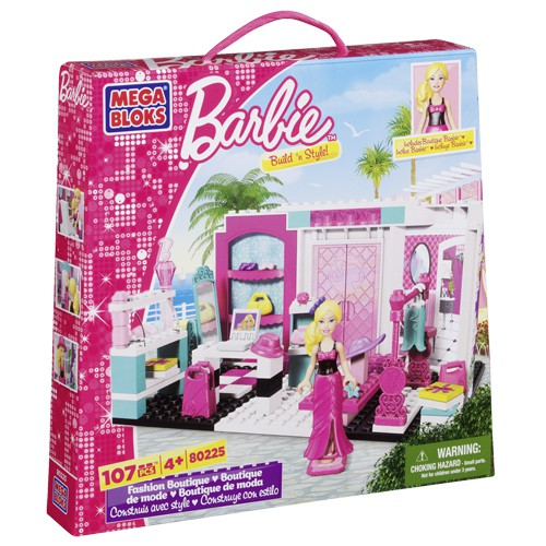 Mega Bloks Barbie Fashion Boutique