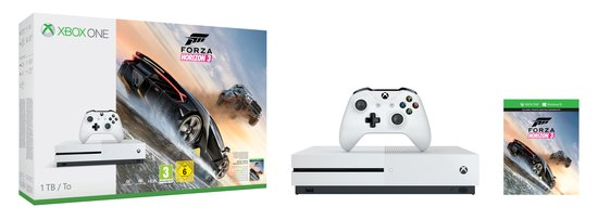 Microsoft® Xbox One S Console Only 1TB Xbox One EN/NL/FR/DE/PT/ES wr EMEA-WE 1 License XBOX - Console - Game Boy Advance