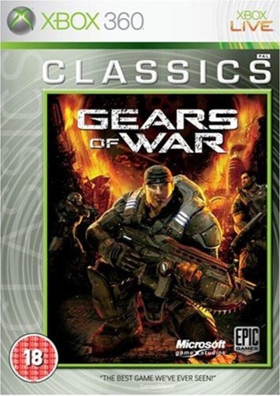 Microsoft Gears of War: Classics Xbox 360 Engels video-game