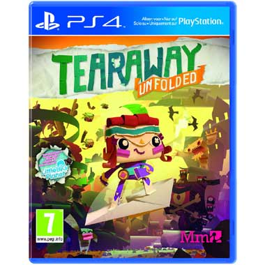 Tearaway Unfolded voor PS4