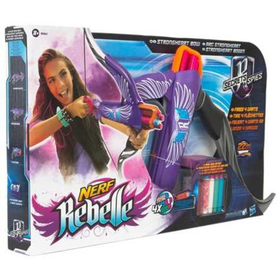 Nerf Rebelle Strongheart Paars