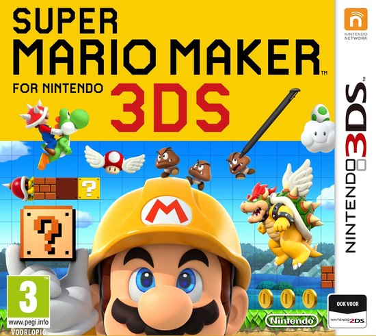 3DS SUPER MARIO MAKER -