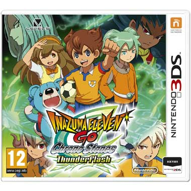Inazuma Eleven Go Chrone Stones: ThunderFlash 3DS