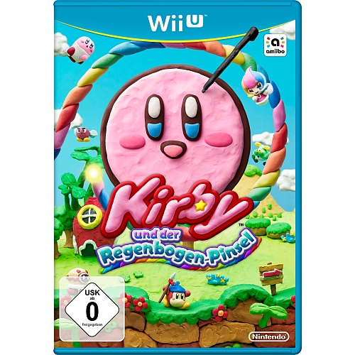 Kirby en rainbow - brush voor Wii U