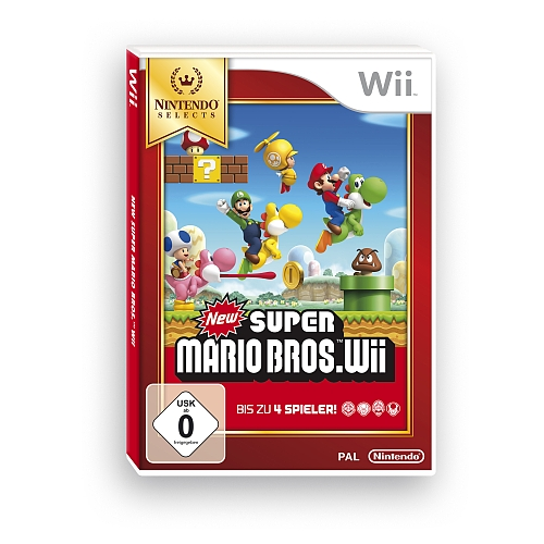 New super mario bros. wii selects voor