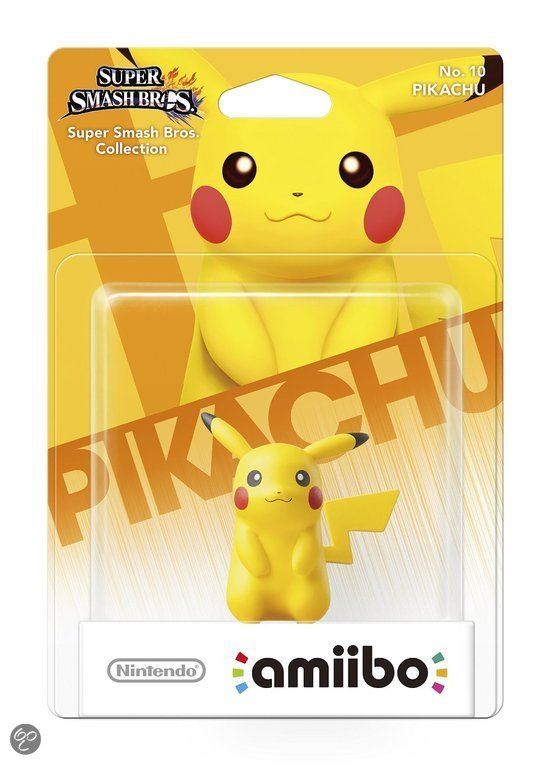 amiibo Super Smash Figuur Pikachu - Wii U + NEW 3DS - Wii U