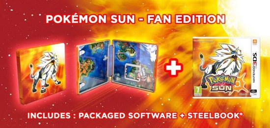 Sun Steelcase Edition - 2DS + 3DS -   3DS