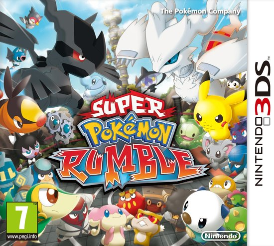 Super   Rumble - 2DS + 3DS -   3DS