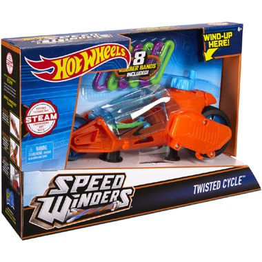 Speed Winders Twisted motor - oranje