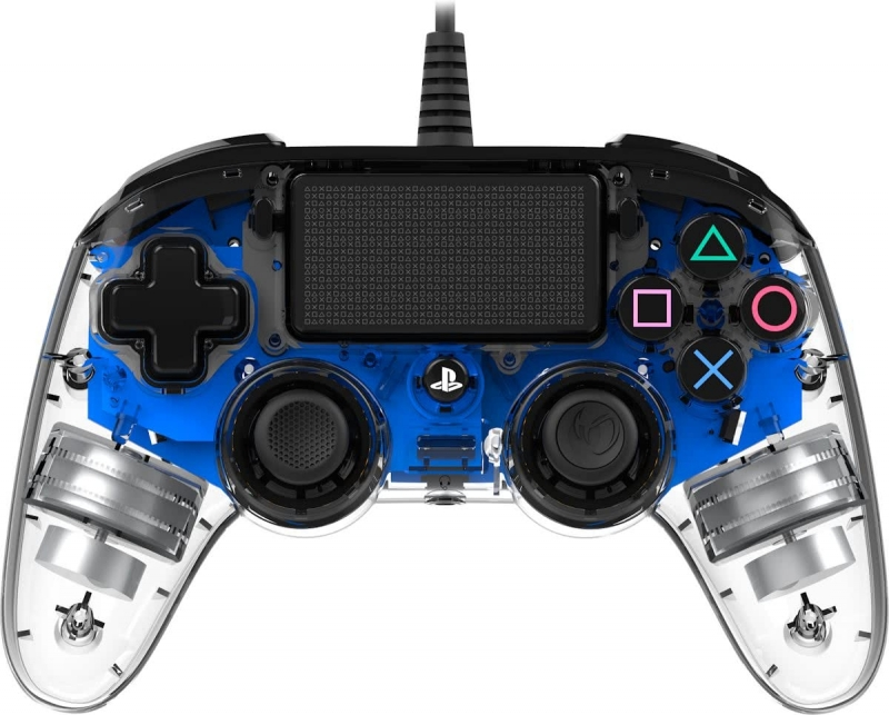 Wired Illuminated Compact Controller (Blue)