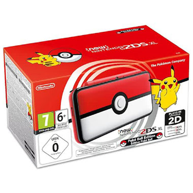 New   2DS XL - Pokéball Edition