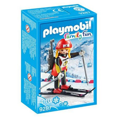 9287 PLAYMOBIL Family Fun biatlete