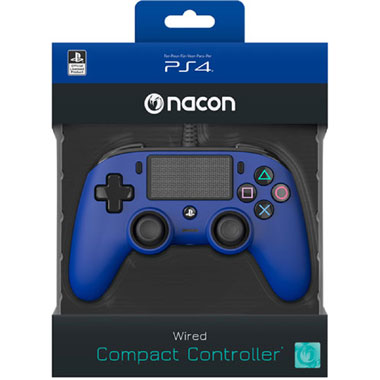 PS4 Official Wired Controller - blauw